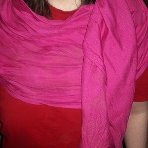 Accessories - LOFT Pink Oversized SCARF